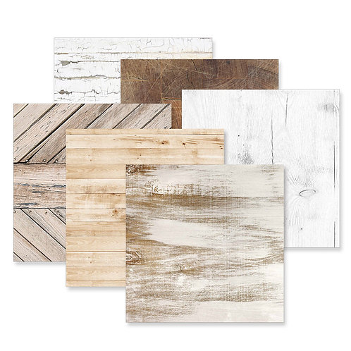 Timber 12x12 Paper Pack (12/pk)
