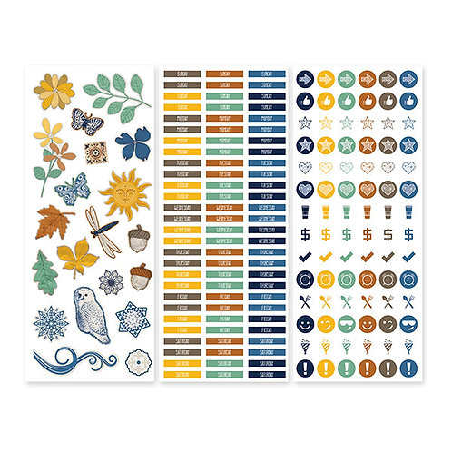 Daily Docket Stickers (3/pk)