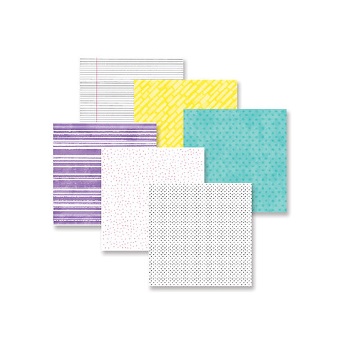 Super Duper Girl 8x8 Paper Pack (12/pk)