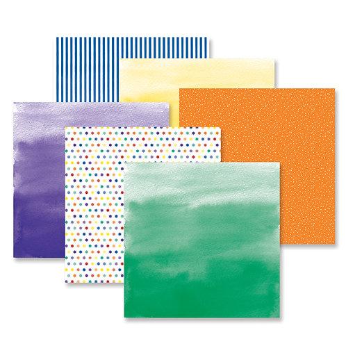 Rainbow Rush Cheerful Paper Pack (12pk)