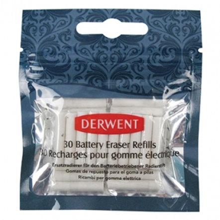 Derwent Replacement Erasers (30/pk)