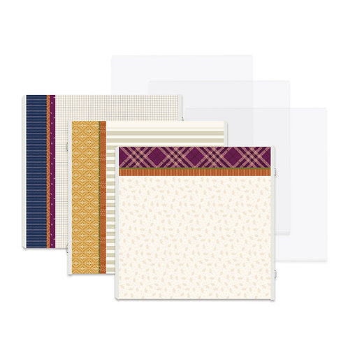 It's Fall, Y'all Fast2Fab™ 12x12 Refill Pages and Protectors - Pre-Order