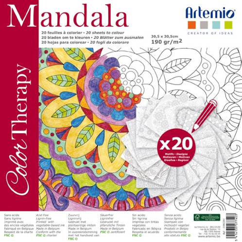 Mandala Colour Therapy