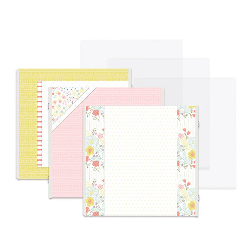 Storytime Girl Fast2Fab™ 12x12 Refill Pages and Protectors
