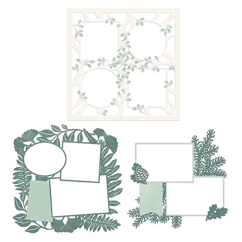 Beneath the Pines Laser Paper Pack (3/pk)