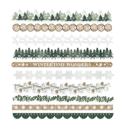 Winter Woods Laser Cut Borders