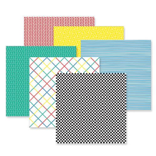Essentials Tone-on-Tone Paper Pack (12/pk)