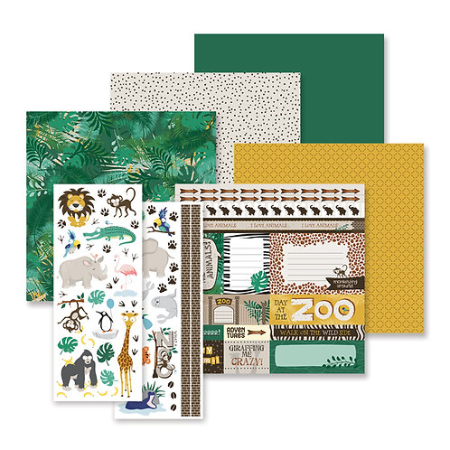What a Zoo Theme Pack (12/pk)