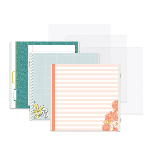 Harvest Delight 12x12 Fast2Fab™ Refill Pages and Protectors -