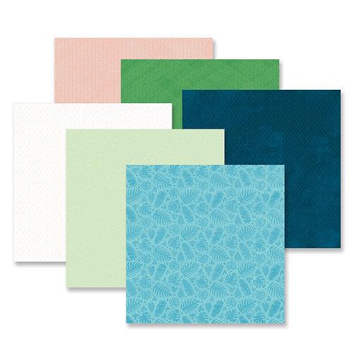 Vitamin Sea Tone-on-Tone Paper Pack (12pk)