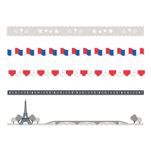 Paris Laser Cut Embellishments