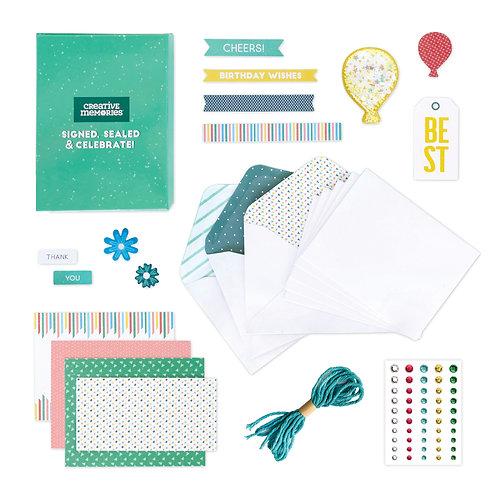 Signed, Sealed and Celebrate' Card Kit