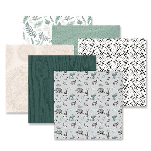 Beneath the Pines Paper Pack (12/pk)
