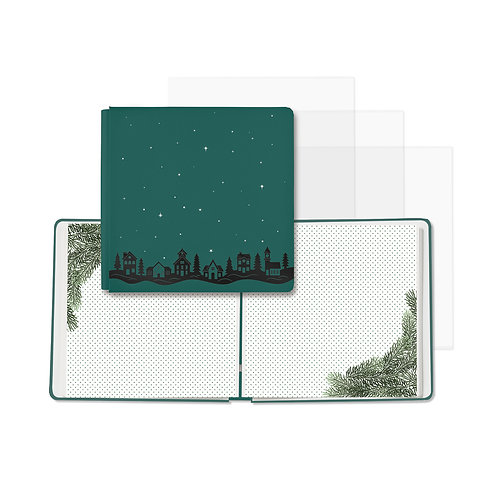 Christmas Spirit Hunter Green Fast2Fab™ 12x12 Album