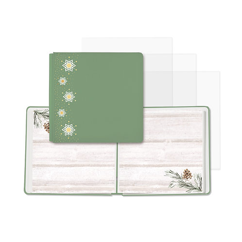 Winter Woods Spruce Green Fast2Fab™ 12x12 Album
