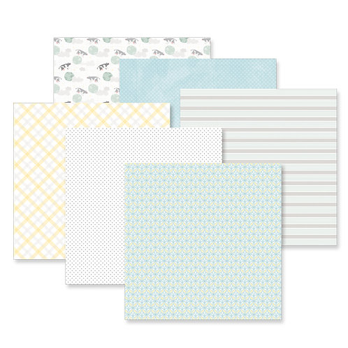 Little Lamb Boy 12x12 Paper Pack (12/pk)