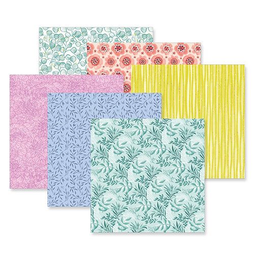 Full Bloom 12x12 Paper Pack (12/pk)