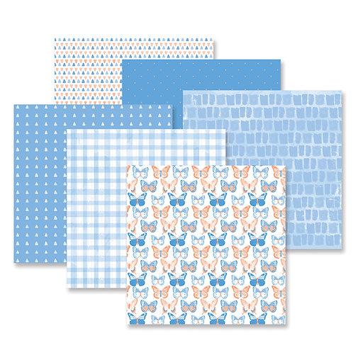 Blend & Bloom Blue Paper Pack (12/pk)