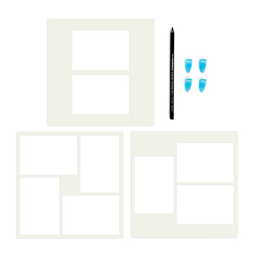 Photo Mat Stencil Bundle (3pk)