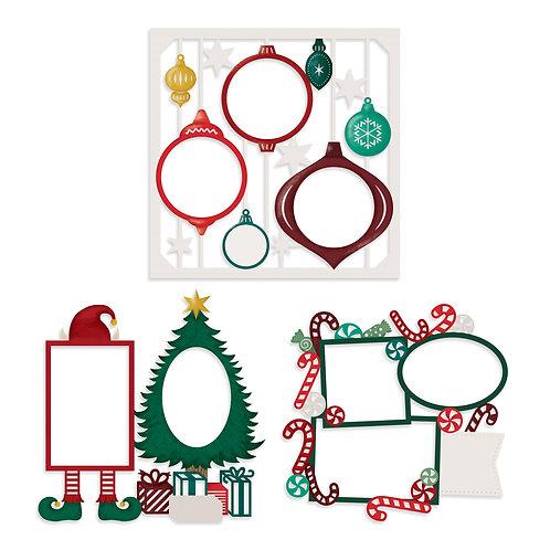 Christmas Spirit Laser Paper Pack (3/pk)