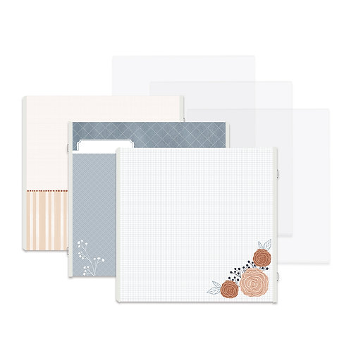 All My Love Fast2Fab™ 12x12 Refill Pages and Protectors