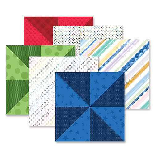 Fresh Fusion Rainbow Paper Pack (12/pk)