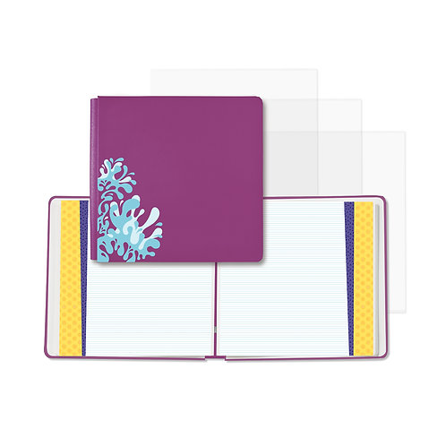 Electric Summer Vivid Violet Fast2Fab™ 12x12 Album