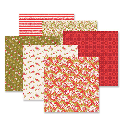Season's Greetings Paper Pack (12/pk)