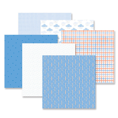 Blend & Bloom Blue Paper Pack (12pk)