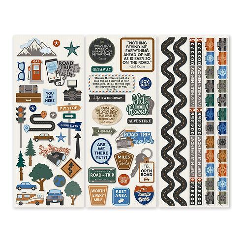 Automobiles Stickers (3/pk)