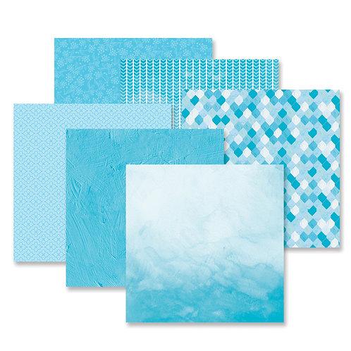 Mix & Match Blue Paper Pack (12/pk)