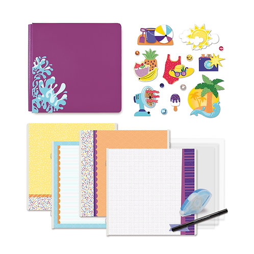 Electric Summer Fast2Fab™ 12x12 Bundle