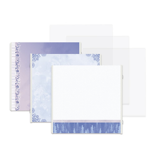 Winterberry Fast2Fab™ 12x12 Refill Pages and Protectors