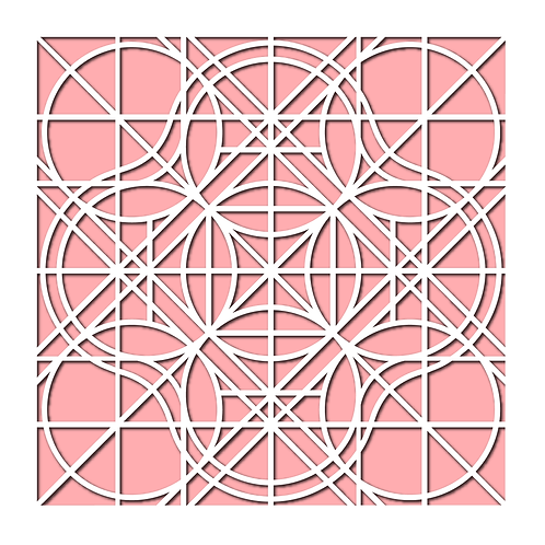Rings Stencil
