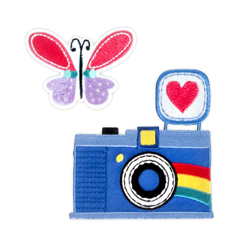 Patches Butterfly and Camera