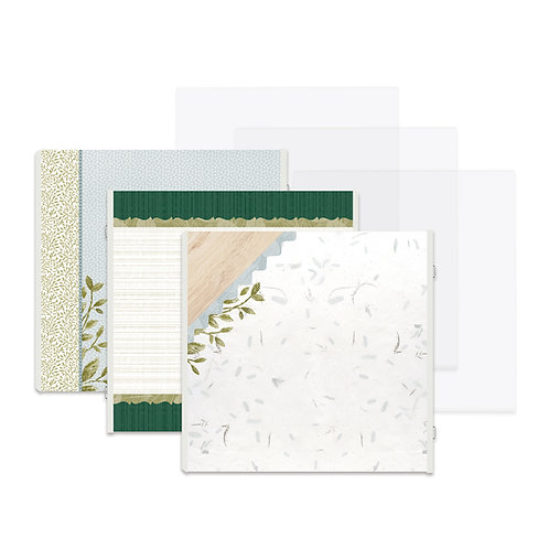 Spring Cottage Fast2Fab™ 12x12 Refill Pages and Protectors