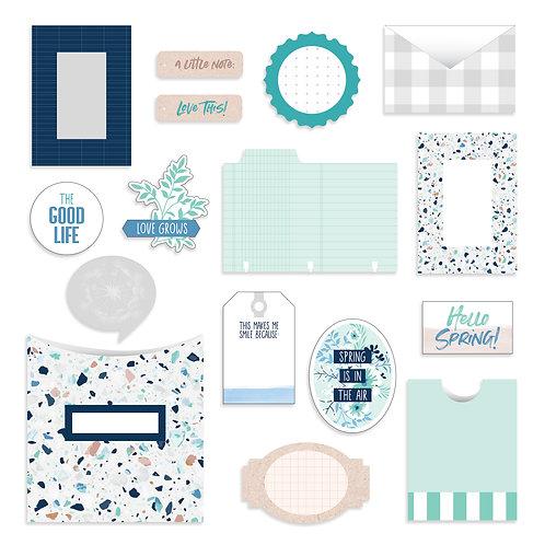 Spring Medley Pockets Embellishments