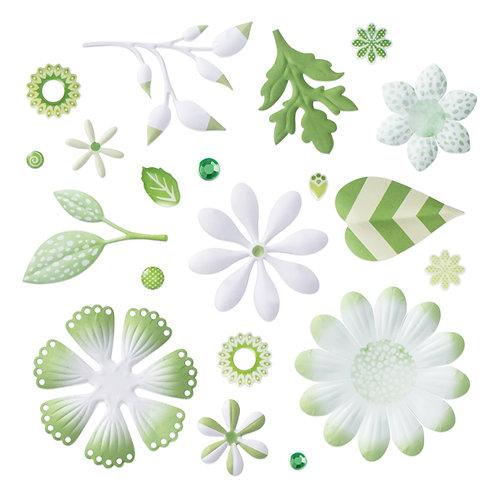 Mix & Match Green Bouquet Embellishments