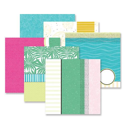 Summertime Fast2Fab-Inspired Paper Pack (12/pk)