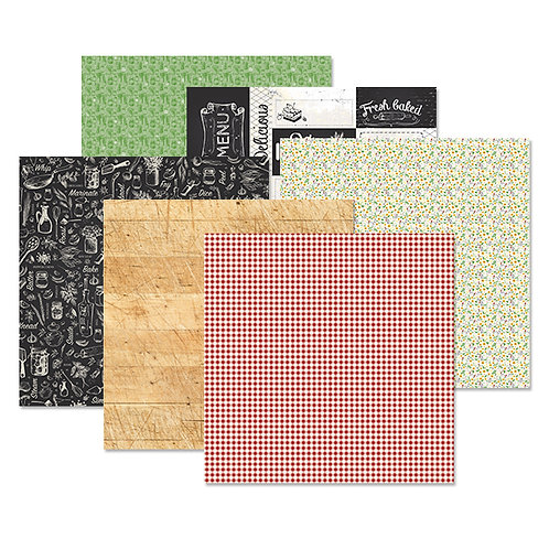 Made With Love 12x12 Paper Pack (12/pk)