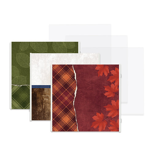 Hello, Autumn Fast2Fab™ 12x12 Refill Pages and Protectors