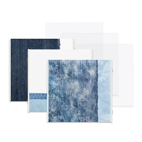 Denim Fast2Fab™ 12x12 Refill Pages and Protectors