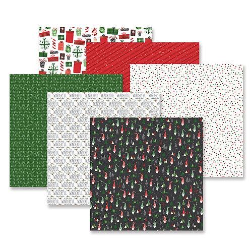 Merry Little Christmas Paper Pack (12/pk)