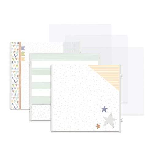 Little Dreamer Fast2Fab™ 12x12 Refill Pages and Protectors