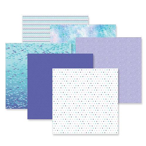 Mermaid Cove Paper Pack (12/pk)