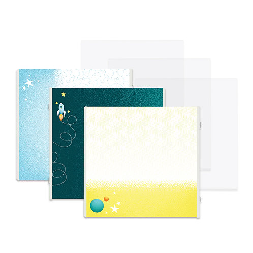 Outta This World Fast2Fab™ 12x12 Refill Pages and Protectors