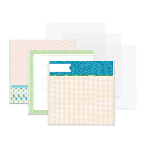 Vitamin Sea Fast2Fab™ 12x12 Refill Pages and Protectors
