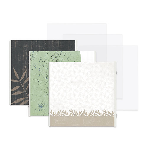 Natural Disposition Fast2Fab™ 12x12 Refill Pages and Protectors