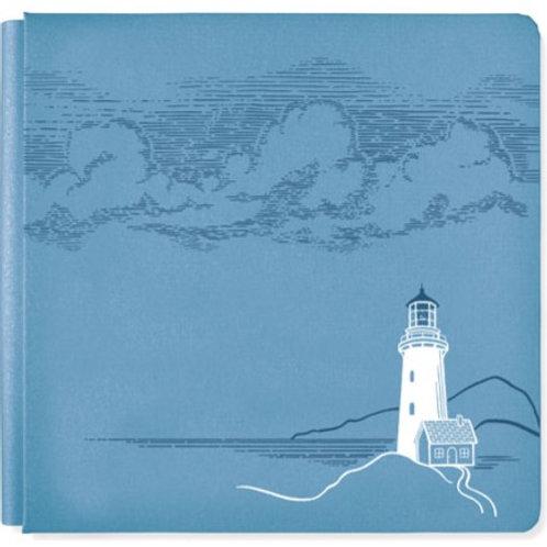 Deep Blue Sea Storm Blue 12x12 Album Cover