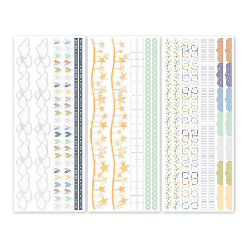 Little Dreamer Border Stickers (3/pk)